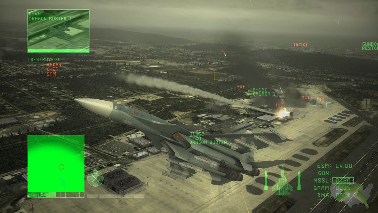 Ace Combat 6 online multi-player details emerge - Xbox America