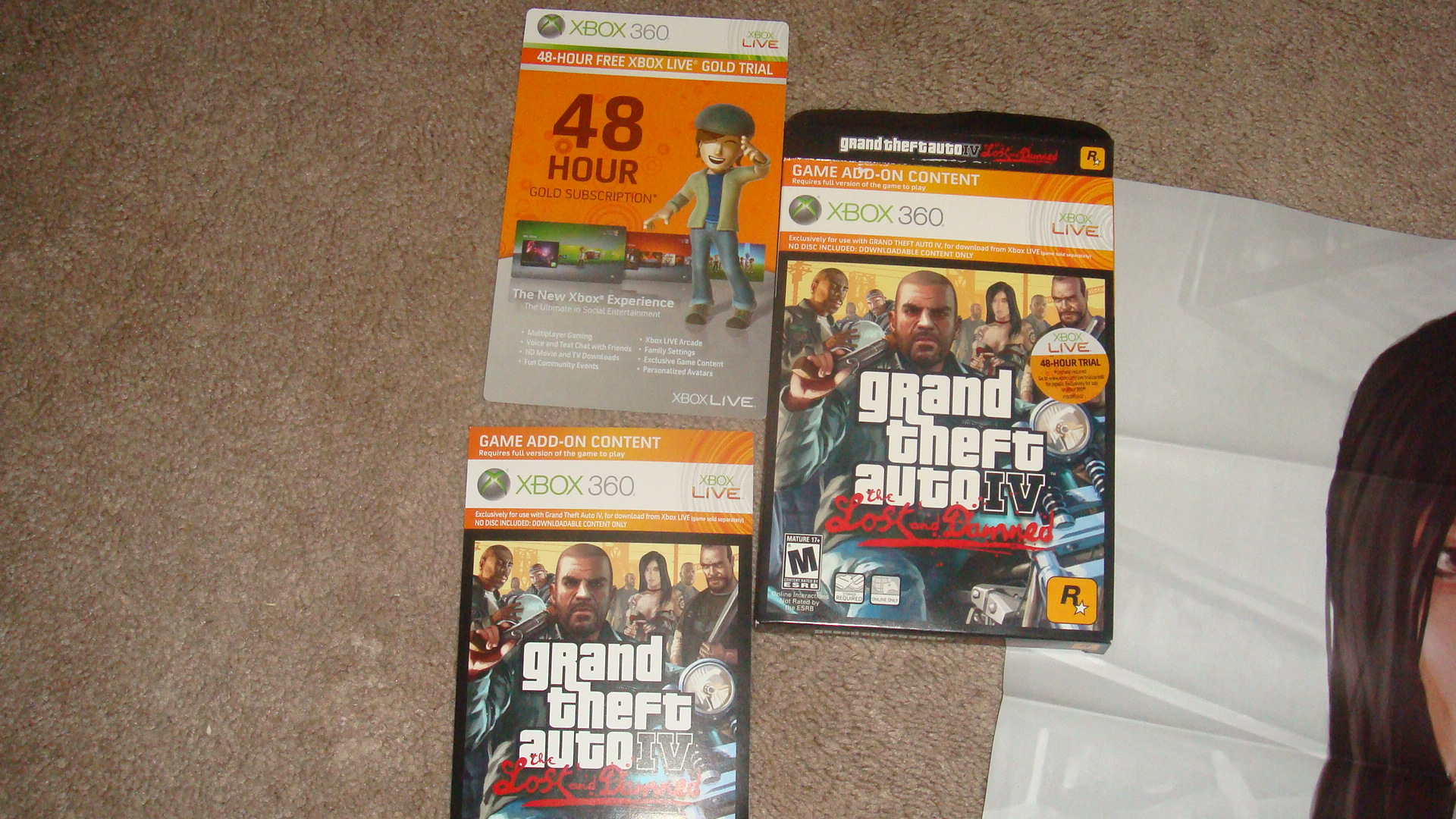 I JUST GOT GTA4:THE LOST & DAMNED! - Xbox America